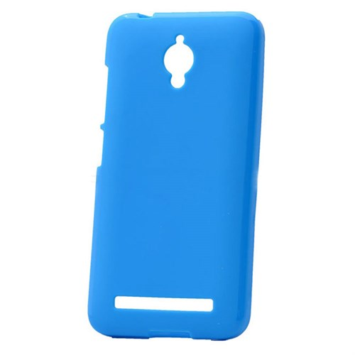 Case 4U Asus Zenfone Go Soft Silikon Kılıf Mavi