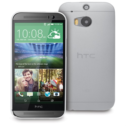 Microsonic Ultra Thin 0.2Mm Htc One M8s Kılıf Beyaz