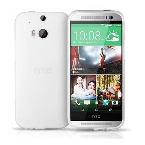 Microsonic Transparent Soft Htc One M8s Kılıf Beyaz
