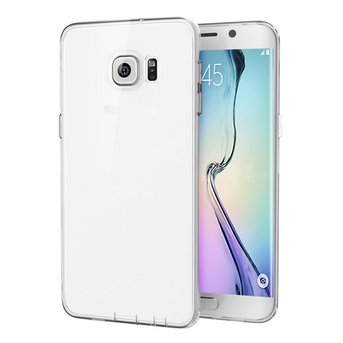 Totu Design Samsung Galaxy S6 Edge Plus Kılıf Soft Series Transparant Thin Clear