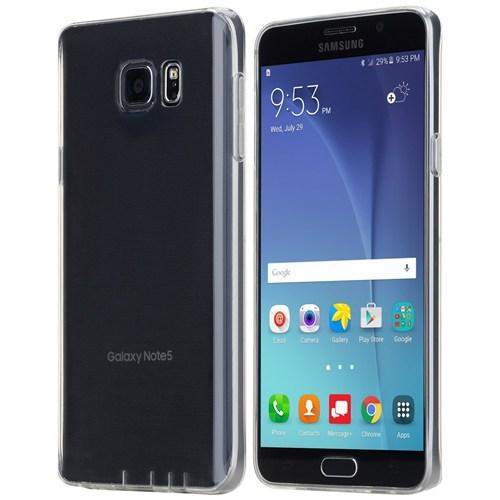 Totu Design Samsung Galaxy Note 5 Kılıf Soft Series Transparant Thin Clear