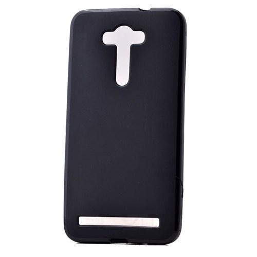 """Case 4U Asus Zenfone Laser 5.5"""" Soft Silikon Kılıf Siyah"""