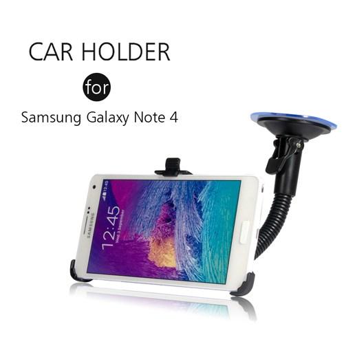 Markacase Galaxy Note 4 Telefon Tutucu Cam Vantuzlu