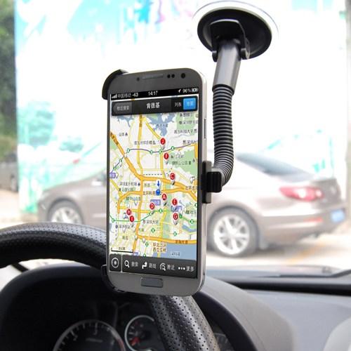 Markacase Galaxy S4 Telefon Tutucu Cam Vantuzlu