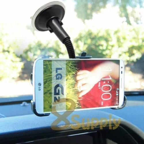Markacase Lg G2 D802 Telefon Tutucu Cam Vantuzlu