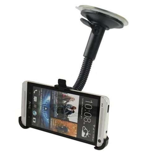 Markacase Htc One M7 Telefon Tutucu Cam Vantuzlu