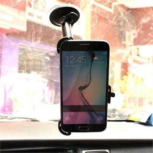 Markacase Galaxy S6 Telefon Tutucu Cam Vantuzlu