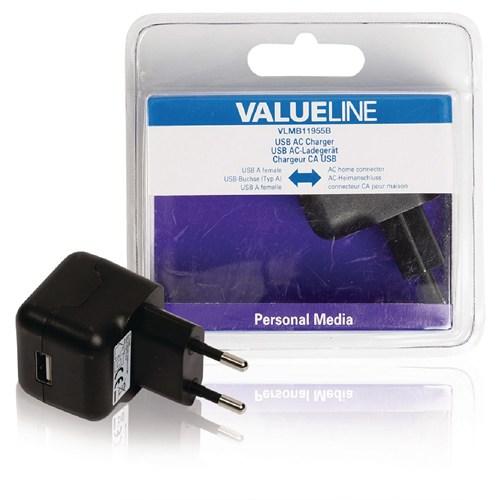 Valueline Vlmb11955b 2.1A Usb Şarj Adaptörü Siyah