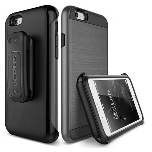 Verus İphone 6 6S Kılıf Verge Active Series Steel Gri