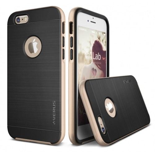 Verus İphone 6 Plus 6S Plus Kılıf High Pro Shield Series Shine Sarı