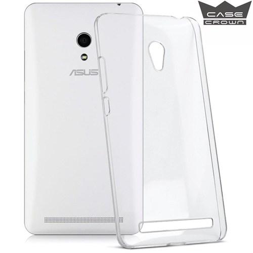 CaseCrown Asus Zenfone 6 Ultra İnce Silikon Kılıf Şeffaf