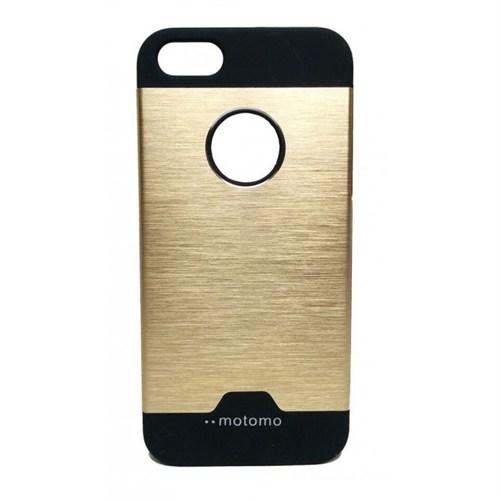 Lopard Apple İphone 6 Plus Kılıf Motto Metalik Arka Kapak Atın