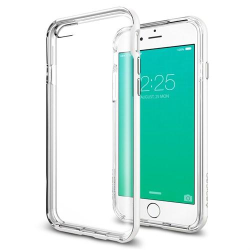 Spigen Sgp iPhone 6S Plus Kılıf Neo Hybrid EX Shimmery White - SGP11671
