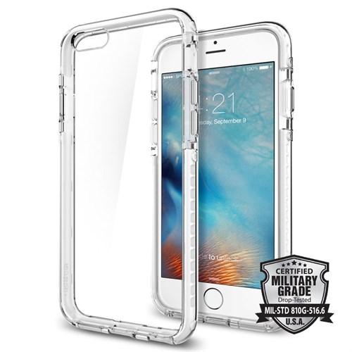 Spigen Sgp iPhone 6S Plus Kılıf Ultra Hybrid TECH Crystal White - SGP11745