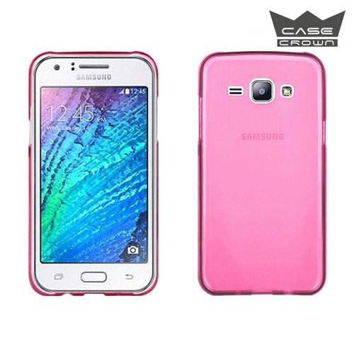 CaseCrown Samsung Galaxy J5 Ultra İnce Silikon Kılıf Pembe