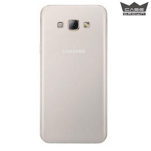 CaseCrown Samsung Galaxy A8 Ultra İnce Silikon Kılıf Şeffaf