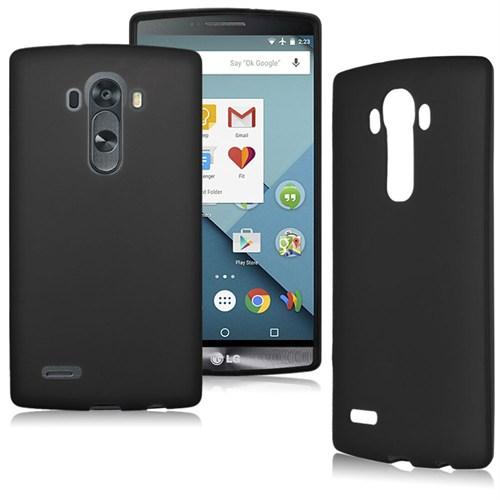Case 4U LG G4 Stylus Soft Silikon Kılıf Siyah