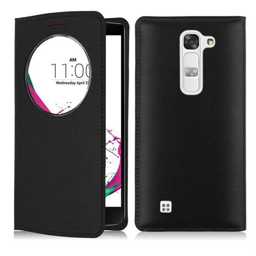 Case 4U LG G4C Flip Cover Siyah