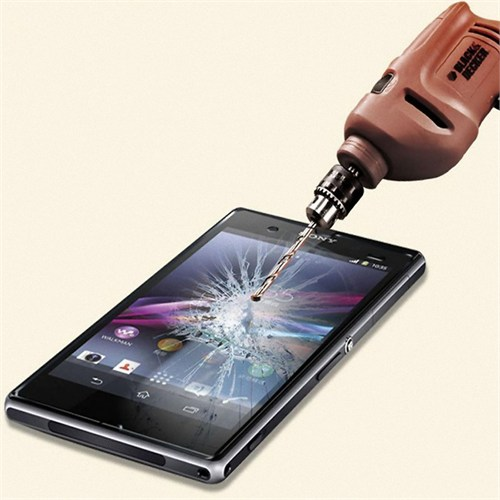 Semers Sony Xperia T2 Kırılmaz Cam Ekran Koruyucu