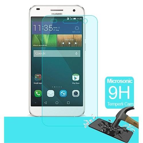 Semers Huawei Ascend G7 Kırılmaz Cam Ekran Koruyucu- Semers