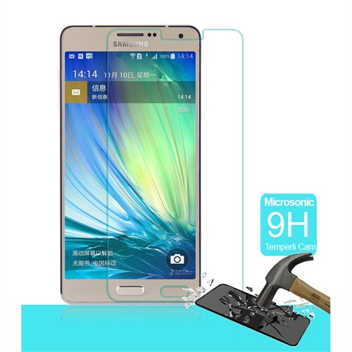 Semers Samsung Galaxy A7 Kırılmaz Cam Ekran Koruyucu