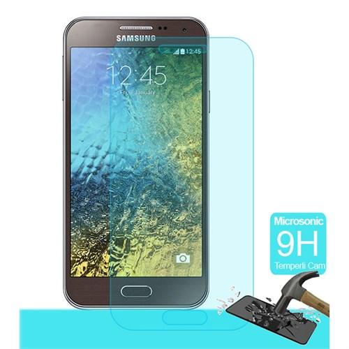 Semers Samsung Galaxy E5 Kırılmaz Cam Ekran Koruyucu