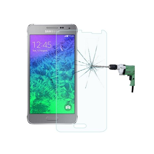 Semers Samsung Galaxy Alpha G850 Kırılmaz Cam Ekran Koruyucu