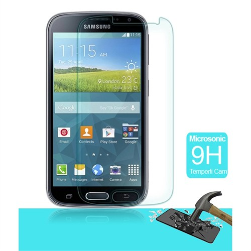 Semers Samsung Galaxy K Zoom C1110 Kırılmaz Cam Ekran Koruyucu