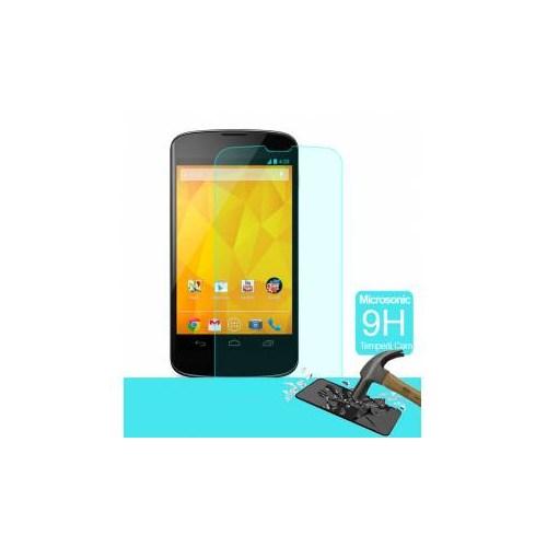 Semers Google Nexus 4 Kırılmaz Cam Ekran Koruyucu - Semers