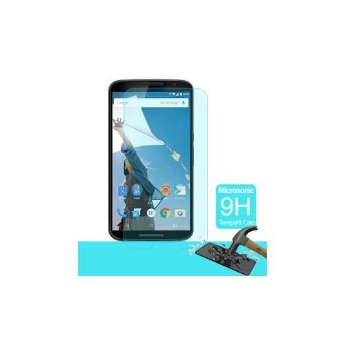 Semers Google Nexus 6 Kırılmaz Cam Ekran Koruyucu - Semers