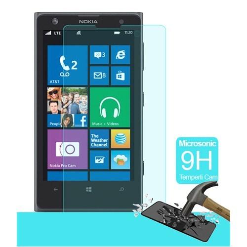 Semers Nokia Lumia 1020 Kırılmaz Cam Ekran Koruyucu