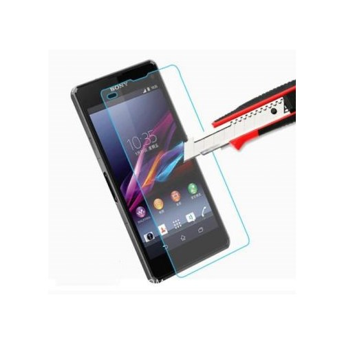Semers Sony Xperia Z1 Kırılmaz Cam Ekran Koruyucu