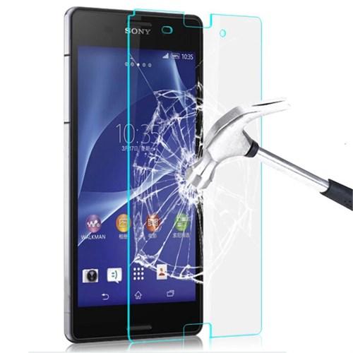 Semers Sony Xperia M2 Kırılmaz Cam Ekran Koruyucu
