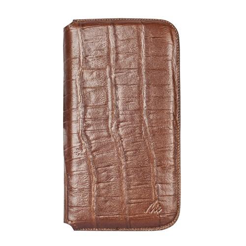Matras Apple iPhone SE/5/5S Slim Cuzdan Kilif Kroko