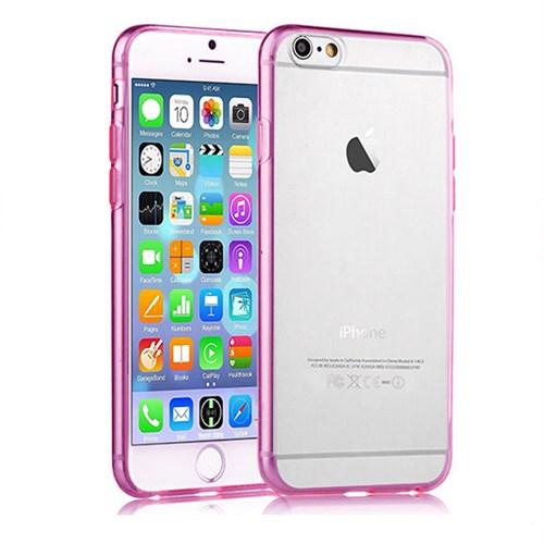 Cesim Apple iPhone 6/6S Soft Arka Kapak Pembe