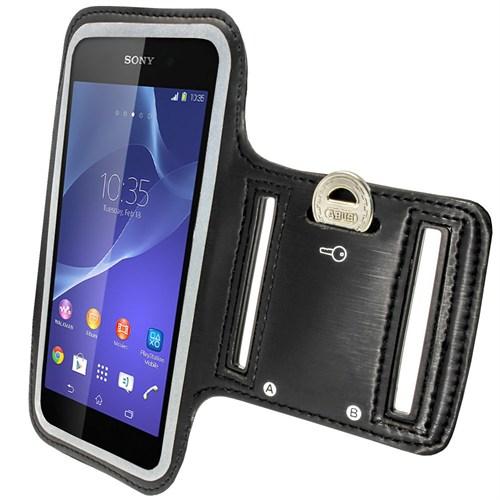Case 4U Sony Xperia Z3 Kol Bandı Siyah
