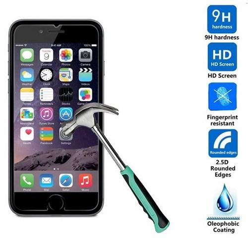 Dark Apple iPhone 6/6S Uyumlu 9H (Tempered) Çizilmez Ekran Koruyucu (DK-AC-CPI652)