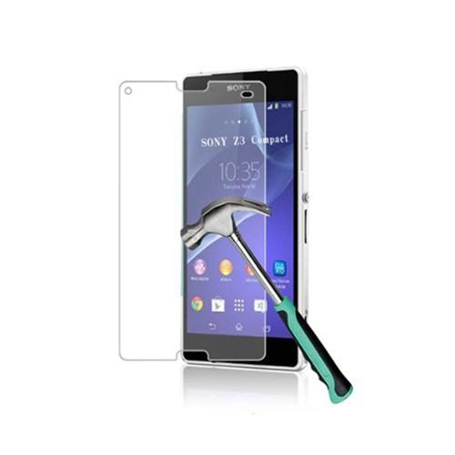 Mili Sony Xperia C3 Temperli Kırılmaz Cam Ekran 0.33 2.5D