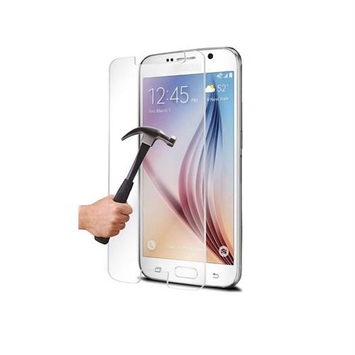 Mili Samsung Galaxy S6 Temperli Kırılmaz Cam Ekran 0.33 2.5D