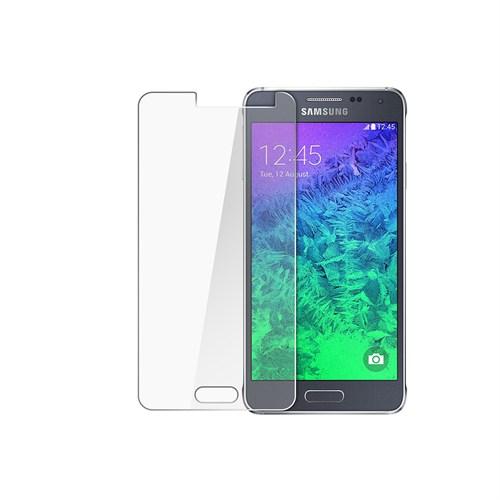 Mili Samsung Galaxy A8 Temperli Kırılmaz Cam Ekran 0.33 2.5D