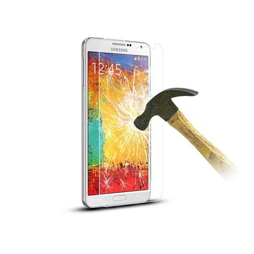 Mili Samsung Note 2 Temperli Kırılmaz Cam Ekran 0.33 2.5D
