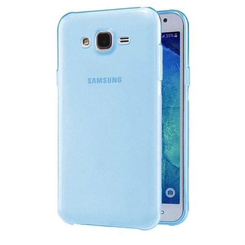 Case 4U Samsung Galaxy J2 Ultra İnce Silikon Kılıf Mavi