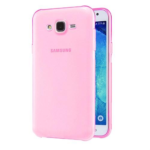 Case 4U Samsung Galaxy J2 Ultra İnce Silikon Kılıf Pembe