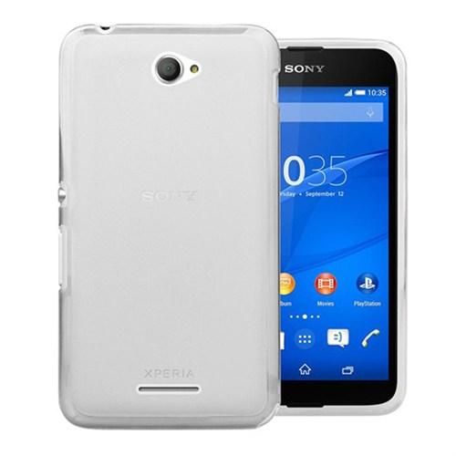 Case 4U Sony Xperia E4ultra İnce Silikon Kılıf Şeffaf