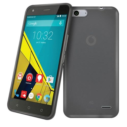 Case 4U Vodafone Smart 6 Ultra İnce Silikon Kılıf Siyah