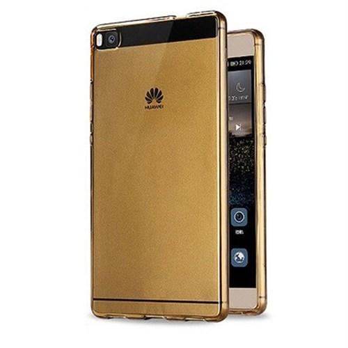 Case 4U Huawei P8 Ultra İnce Silikon Kılıf Gold