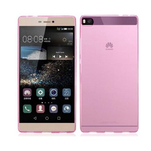 Case 4U Huawei P8 Ultra İnce Silikon Kılıf Pembe