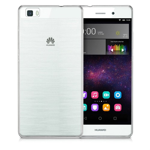 Case 4U Huawei P8 Lite Ultra İnce Silikon Kılıf Şeffaf