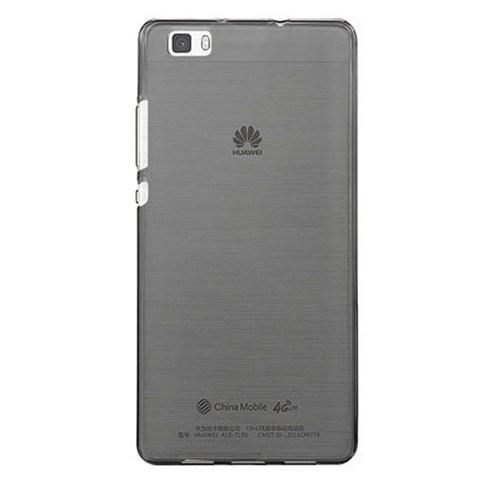 Case 4U Huawei P8 Lite Ultra İnce Silikon Kılıf Siyah