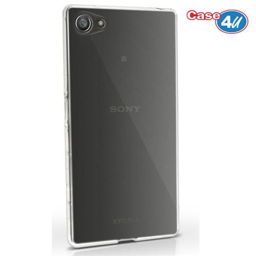 Case 4U Sony Xperia Z5 Ultra İnce Silikon Kılıf Şeffaf